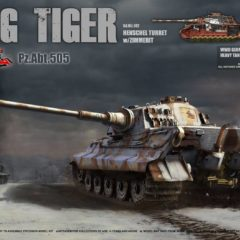 Takom King Tiger Pz.Abt.505 1/35