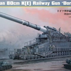 "Hobby Boss German 80cm K(E) Railway Gun ""Dora"" #82911"