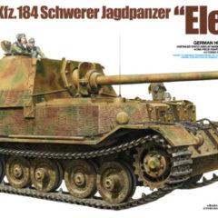 "Tamiya Sd.Kfz.184 Schwerer Jagdpanzer ""Elefant"" 1/35"