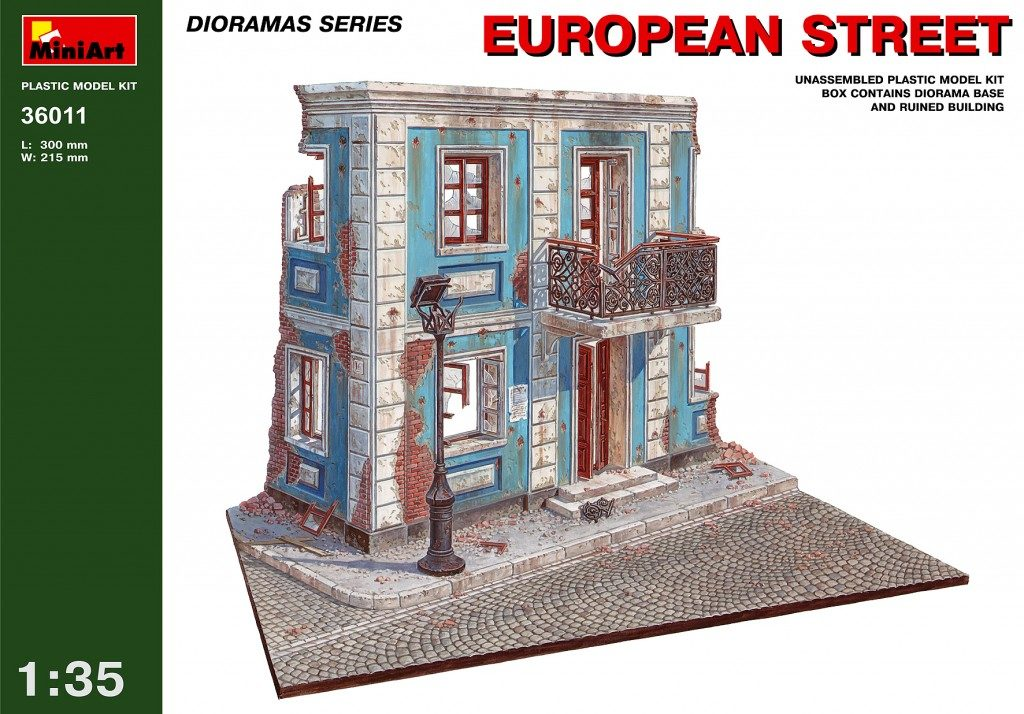 MiniArt European Street 1/35 | Scale Models and Reviews