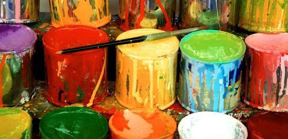 Paint, paint, paint and paint!