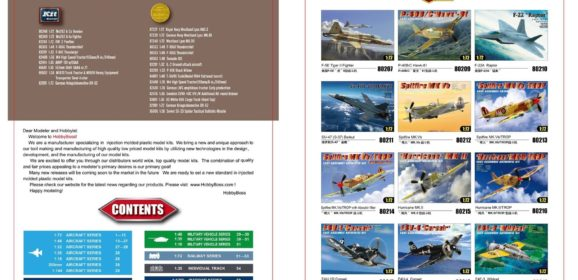 Hobbyboss 2018 Catalogue