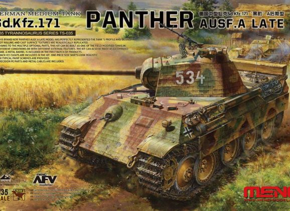 Meng Panther Ausf. A Late 1/35