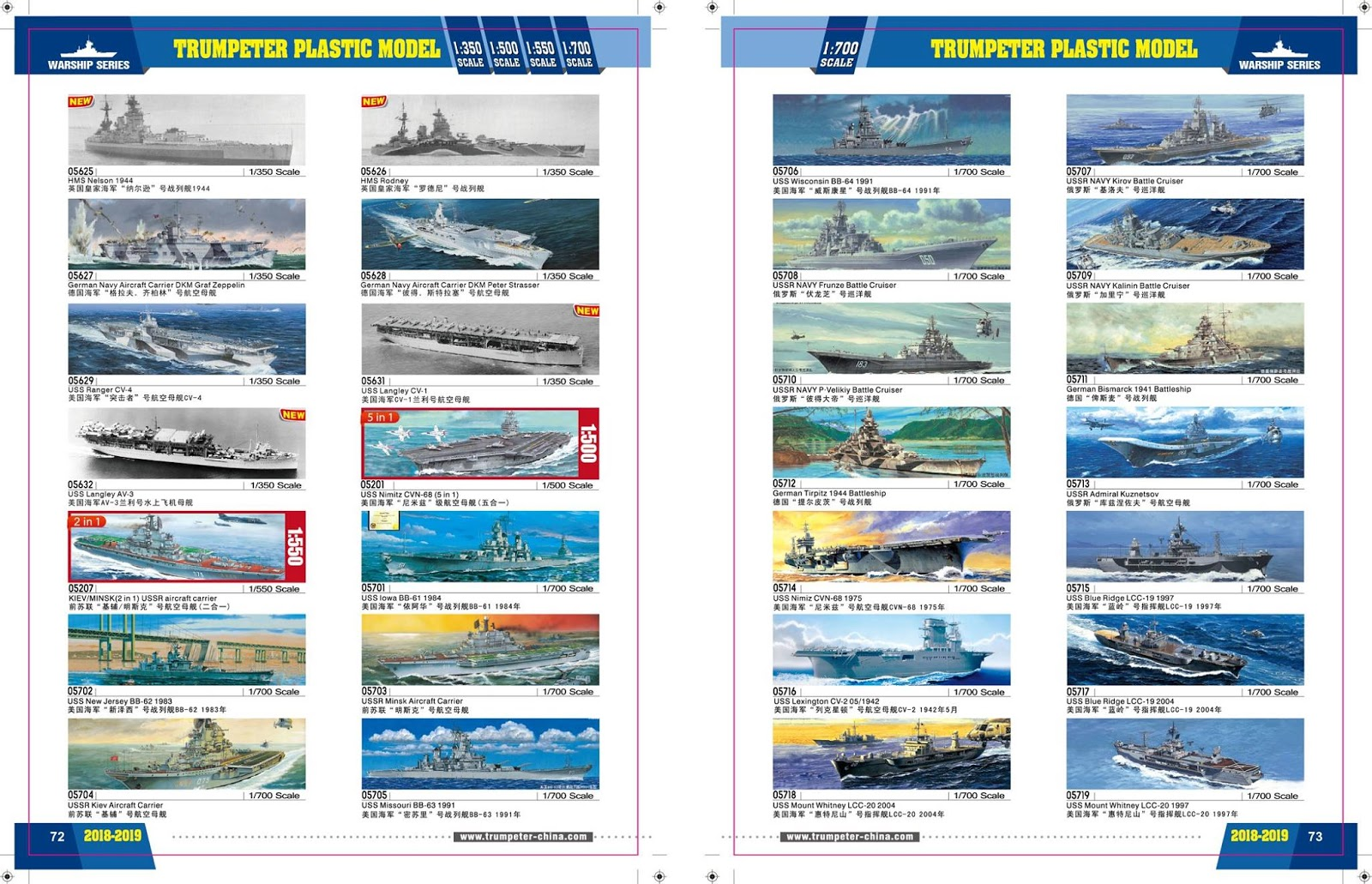 Trumpeter 2018 Catalogue Scale Models And Reviews