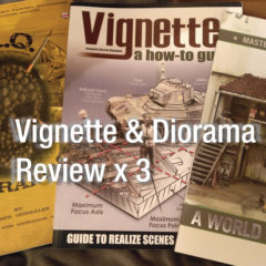 Vignette & Diorama book review X 3