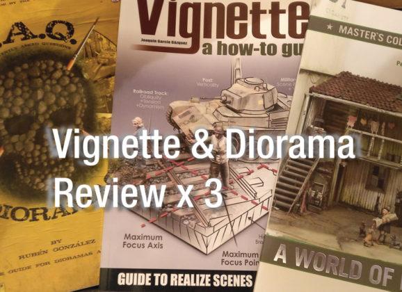 Vignette & Diorama book review X 3