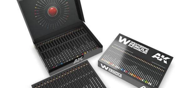 AK Interactive Weathering Pencils