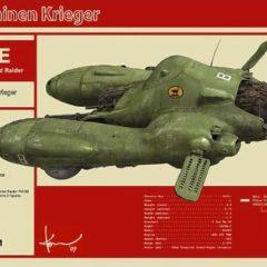 Hasegawa Falke Antigravity Armored Raider Pkf.85 1/20